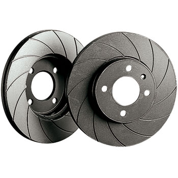 Black Diamond 12 Groove Brake Discs - Front