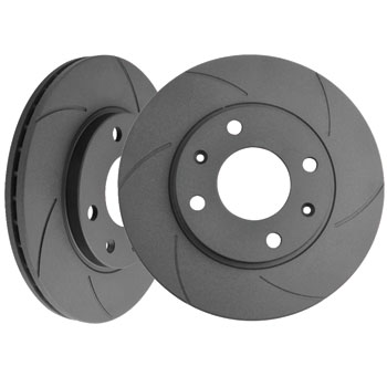 Black Diamond 6 Groove Brake Discs - Front