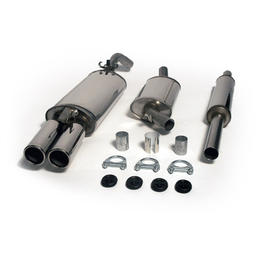 Supersport Stainless Steel Exhaust Systems