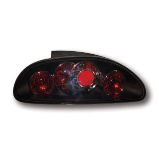 Rover MGF:MGTF Tail Lights - Black Lexus Style