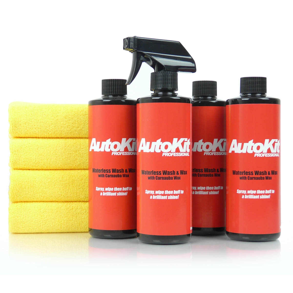 AutoKit Waterless Wash and Wax - 2L Kit