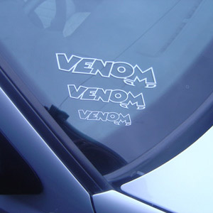Venom Car Decals